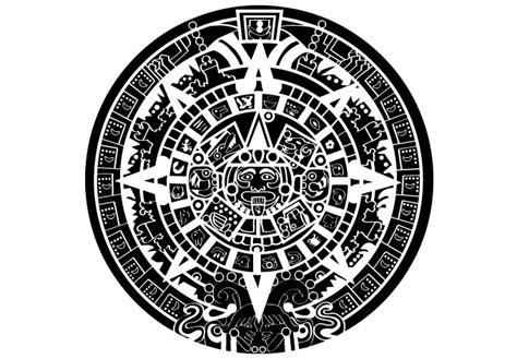 aztec calendar clipart 38