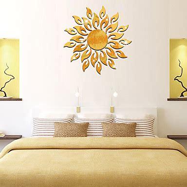 sol creativo fuego sol girasol etiqueta de la pared efecto