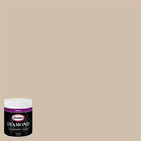glidden 8 oz hdgwn07 desert sand eggshell interior paint with primer tester