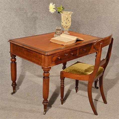 Antique Table Top Desk by Antique Desk Leather Top Quality Library Writing Table