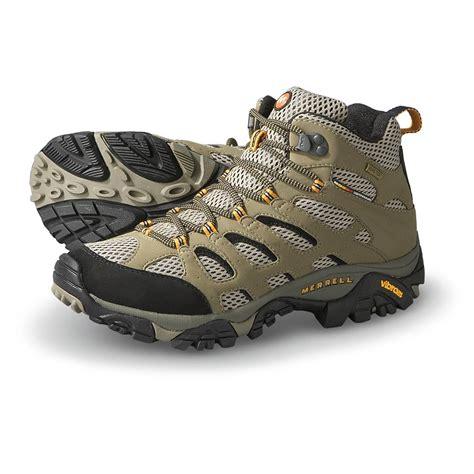merrell moab boots s merrell tex xcr moab mid hiking boots