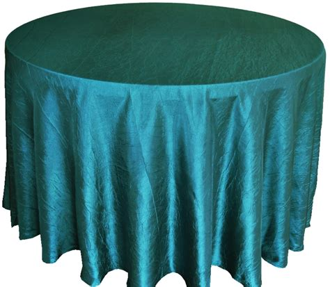 108 quot crushed crinkle taffeta tablecloths