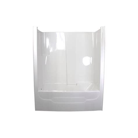 bathtub and wall one piece ts6033 one piece tub wall glass world bathtubs drop in acrylic tubs