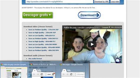 descarga videos desde youtube sin necesidad de descarga videos de youtube sin necesidad de programas 100