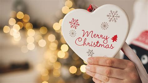 wallpaper merry christmas  love heart hd