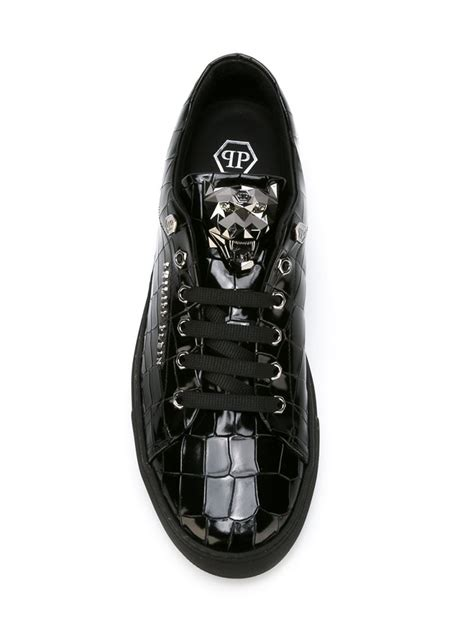 Weinbrenner Phili Slip On Shoes philipp plein abstract sneakers in black for lyst