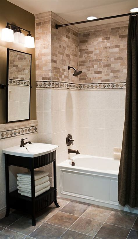 best accent tile bathroom ideas on pinterest small tile 29 ideas to use all 4 bahtroom border tile types digsdigs