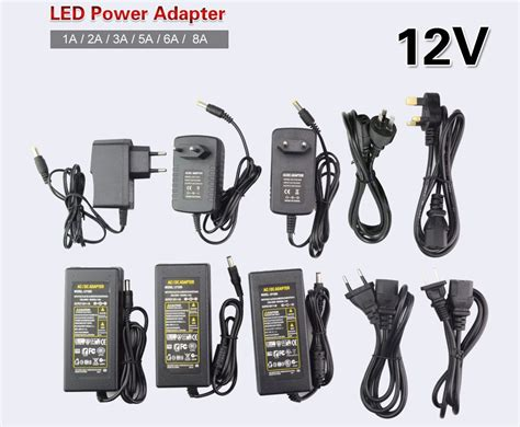 Adaptor Cctv Jian Kong 2a supply adapter charger switch power transformer for led