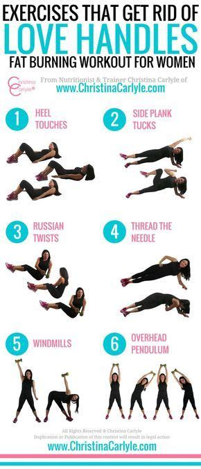 exercises that get rid of handles and back exercise fitness diet handles