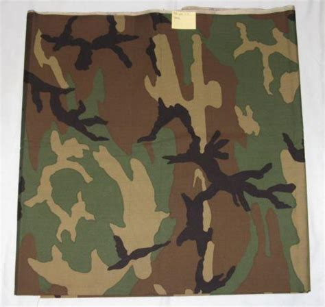 camouflage upholstery material army camo fabric ebay