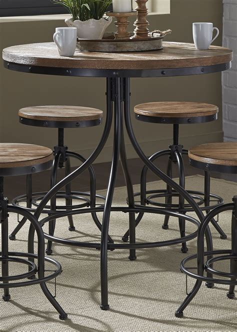 grey pub table set vintage weathered gray pub table from liberty 179 pub3636