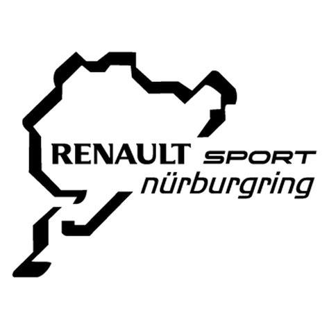 logo renault sport renault sport n 252 rburgring logo decal