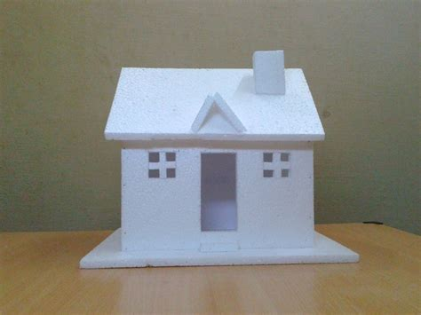 how to make thermocol bungalow house model school project how to make thermocol bungalow house model school project