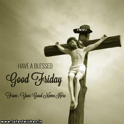 blessed good friday wishes  jesus