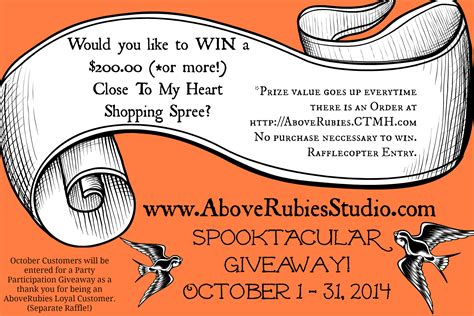 Shopping Giveaways - october 200 shopping spree giveaway free workshop