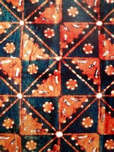 batik sogan liris dan kain emboss classification of yogya parang batik motif 1 lereng