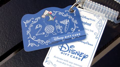 Disney Restaurant Gift Cards - walt disney world releases new food wine gift card designs disney dining information