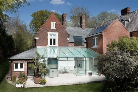 modern house extension designs delightful traditional house with modern glass extension by ar design studio
