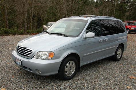 2004 Kia Sedona Review 2004 Kia Sedona User Reviews Cargurus
