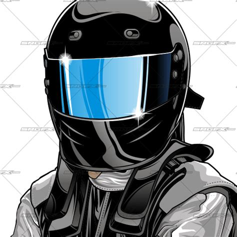 Race Car Driver Drawing race car driver illustration 1 srgfx