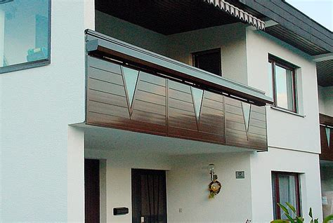 Terrassenüberdachung Aus Aluminium Und Glas by Balkone Sgg Aluminium