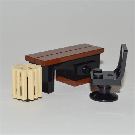 lego furniture office desk set w desk chair waste