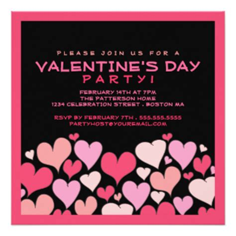 valentines day invitations valentines day invitations announcements zazzle