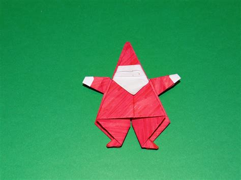 Santa Clause Origami - 50 diy paper ornaments to create with the