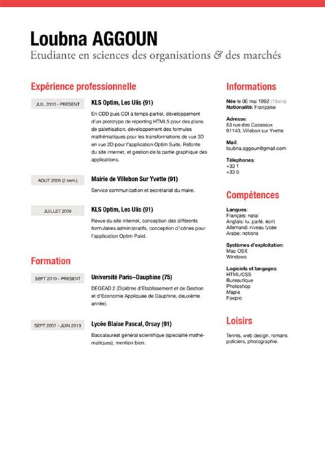 Resume Exles For Creative Professionals 50 Exles Of Simple Creative Resume 56pixels