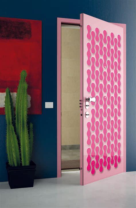 super modern interior doors  cool graphic  colors