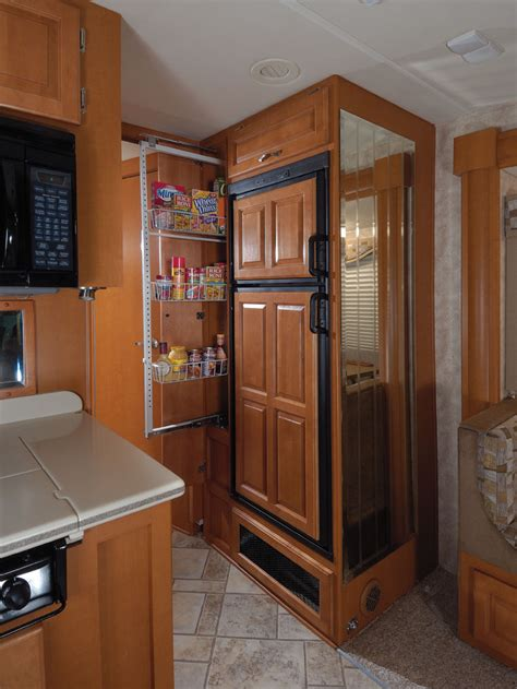 Refrigerated Pantry by 2008 Forest River Berkshire Class A Rvweb