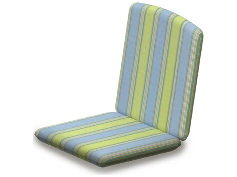 Nautical Patio Chair Cushions Polywood 174 Nautical Replacement Chair Seat Back Cushion