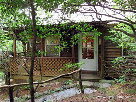 sevenfoxes00002 cabins at seven foxes lake toxaway nc