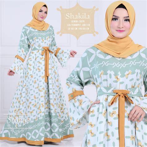 Shop Baju Muslim baju muslim murah nabiilah store