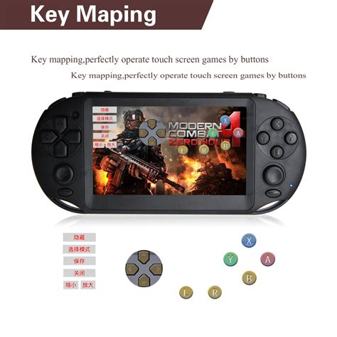 android handheld console oem android 4 0 handheld console 4 3 inch touch