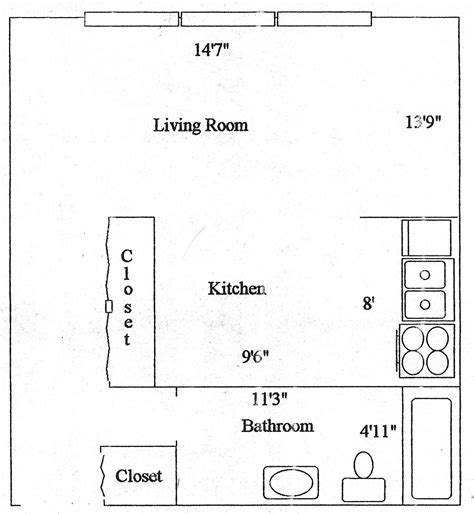 cool studio apartment layout ideas maximizing limited economy apartment floor plan with dimensions slyfelinos