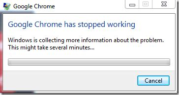 chrome not responding windows 7 solved google chrome has stopped working error how to