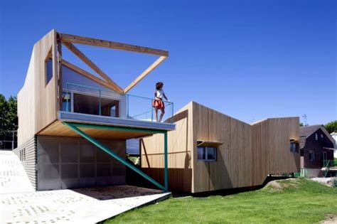 home design building a house with a builder tips steps house on a hill with a seven volume modular building