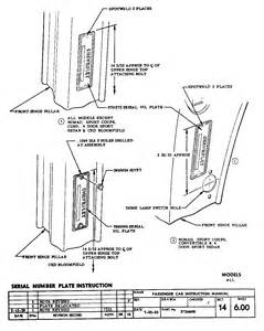 1955 Chevrolet Vin Decoder 1955 Vin Plate Location 1955 Free Engine Image For User