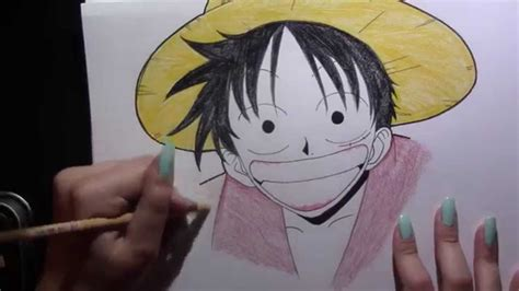 Monkey D Luffy Pencil Anime drawing monkey d luffy from the anime one