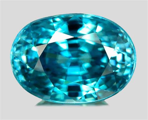 0 19ct blue tourmaline lab created gemstone ebay