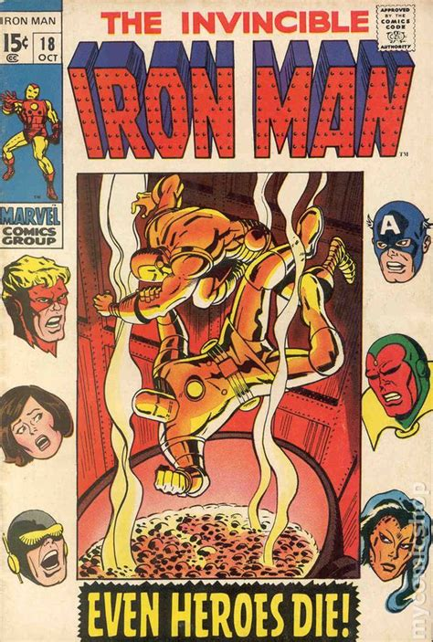 iron in my books iron 1968 1st series comic books