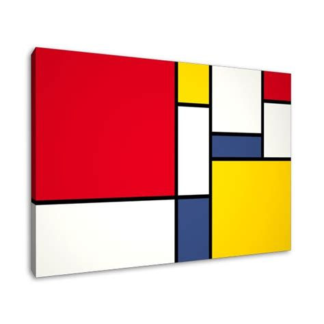 Beach House Layout by Inspiration By Artist Piet Mondrian Modshop Style Blog
