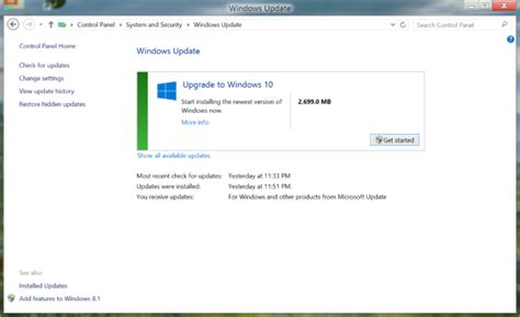 how to upgrade to windows 10 windows 10 is on windows update now the free upgrades
