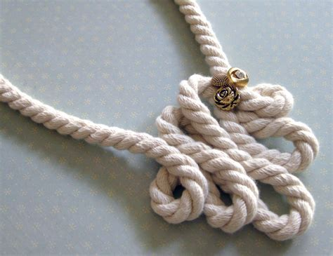 rope for jewelry lillyella crafting anthro style rope necklace