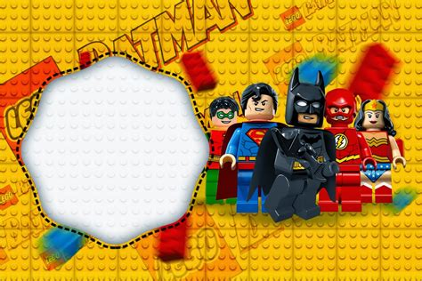 lego superheroes printable superhero baby shower free printable invitations search