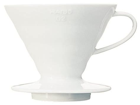 Hario V60 Coffee Dripper 02 White Vdc 02w melitta 10 cup thermal coffee brewer