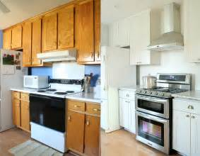 Cheap Kitchen Makeovers - farm kitchen budget remodel before amp after photos