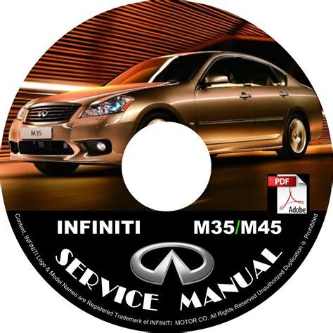 2008 infiniti m35 m45 factory service repair shop manual on cd fix repair rebuild 08 workshop guide