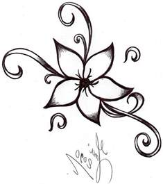 best 25 simple flower drawing ideas on pinterest dibujo cool easy drawing of a flower clipart best
